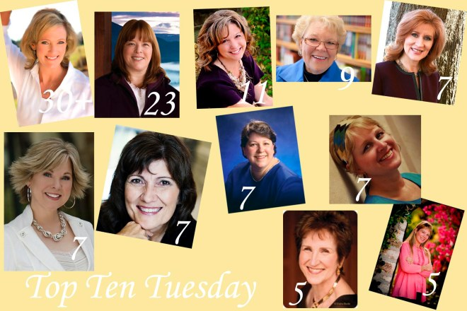 Top Ten Authors I Own The Most Books From