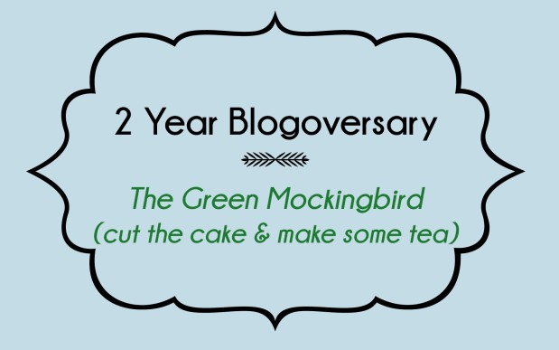 2 Year Blogoversary!!! {and a Twitter giveaway soon}