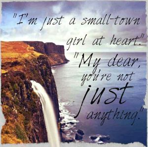 Quote from Andrea and James in Five Days in Skye, via Pinterest. (click through to visit Carla's Pinterest board for Five Days in Skye)