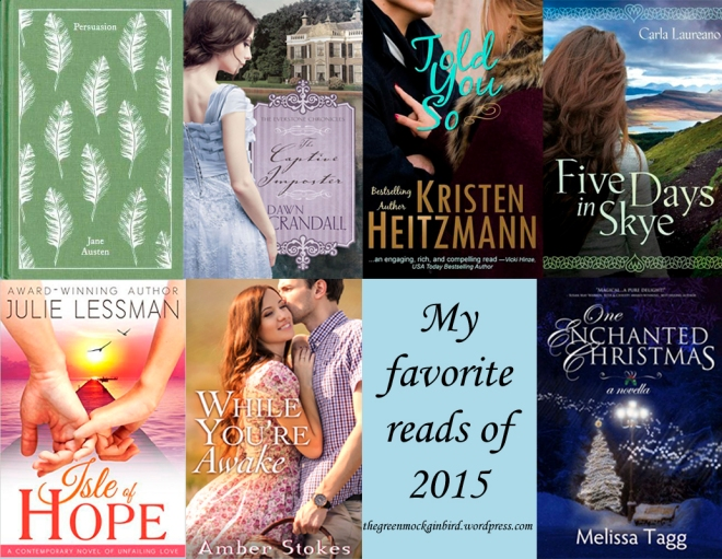 Favorites of 2015 on The Green Mockingbird