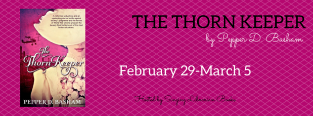 "Review & Interview: ""The Thorn Keeper"" by Pepper D. Basham ~ Blog Tour & Giveaway"