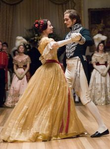 The Young Victoria. So many amazing costumes! AND it is a true story!