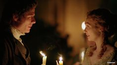 William & Georgiana (James Norton & Eleanor Tomlinson) in Death Comes to Pemberley miniseries