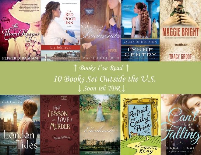 TTT 10 Books Set Outside the US