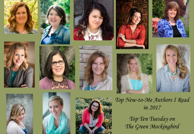 Top Ten Tuesday New to Me Authors