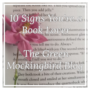 10 signs you're a book lover