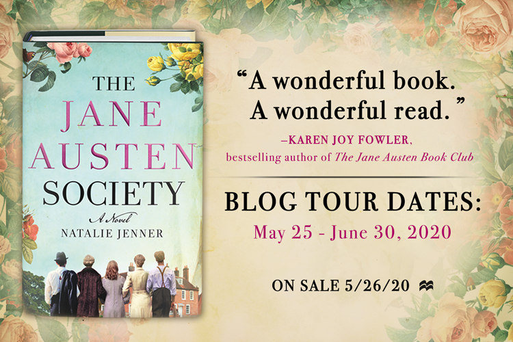 The Jane Austen Society Blog Tour Banner
